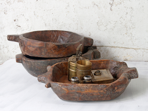 View our  Old Wooden Bowl from the   collection