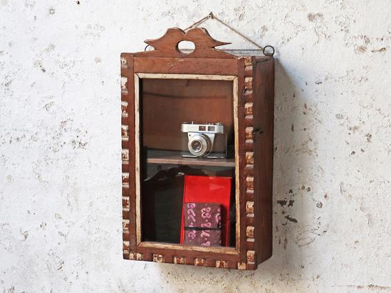 Ornate Wall Cabinet