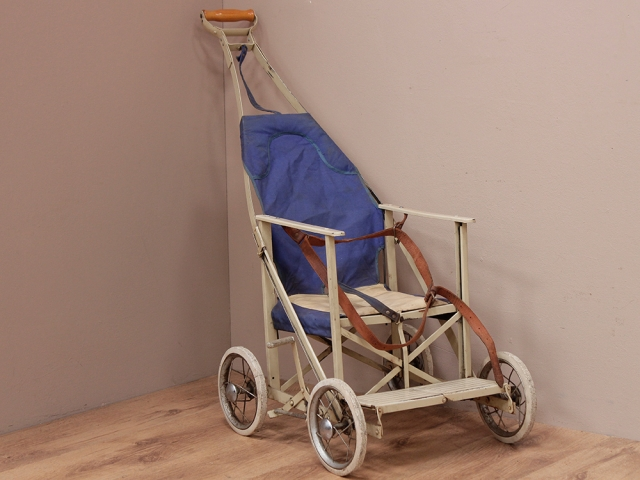 Vintage Metal Pushchair