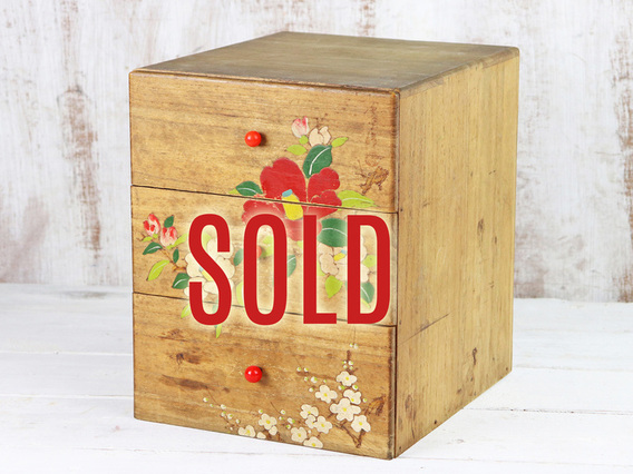 View our  Painted Japanese Chest from the  Sold collection