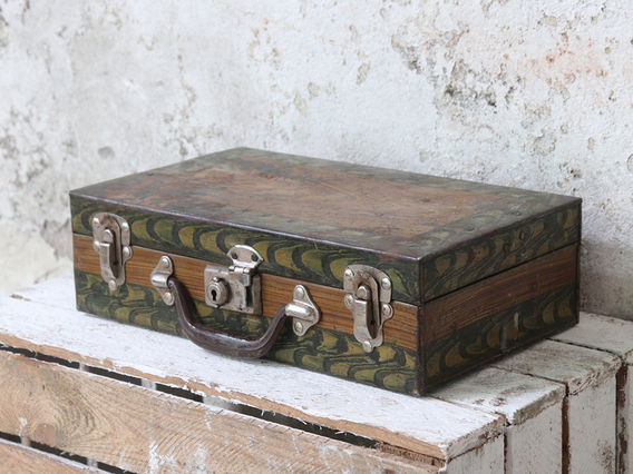 Old Metal Suitcase