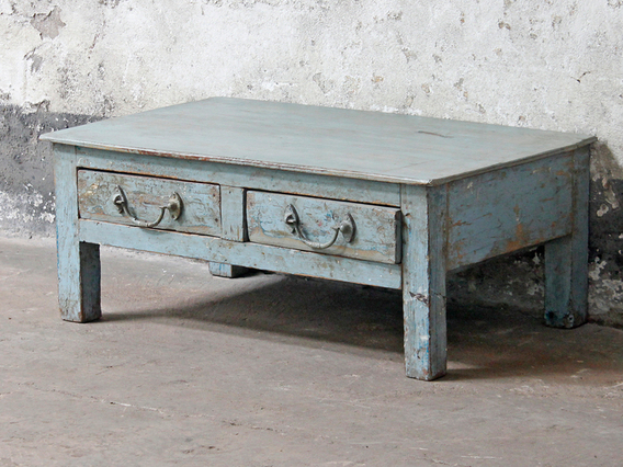 View our  Blue Side Table from the   collection