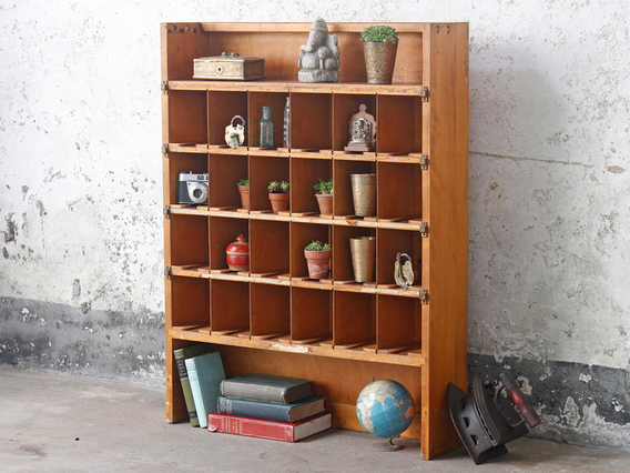 View our  Pigeon Hole Storage from the  Vintage Cabinets & Storage Cupboards collection