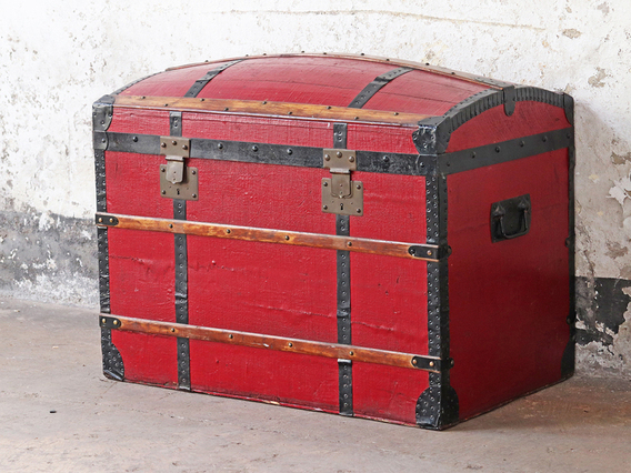 View our  Antique Travel Trunk  from the   collection