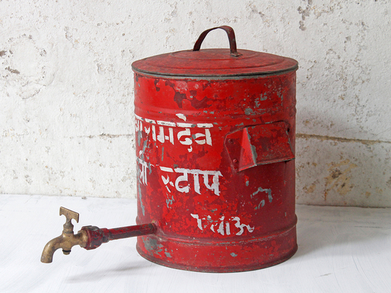View our  Red Vintage Water Tank from the  Sold collection