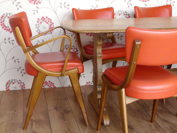 Retro Dining Chairs By Ben Chairs