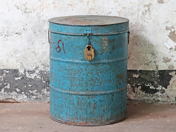 View our  Large Vintage Storage Container from the   collection