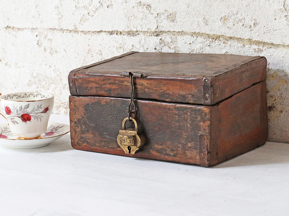 View our  Small Wooden Box from the   collection