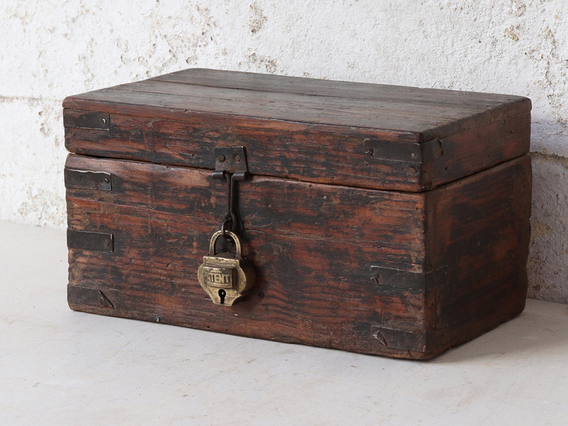 View our  Rustic Box from the  Old Wooden Chests, Trunks & Boxes collection