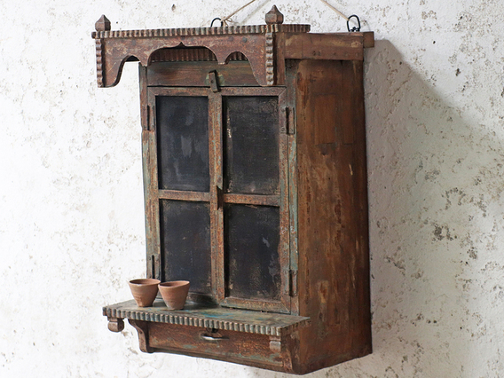 View our  Rustic Ornate Cabinet from the  Furniture and Interiors collection