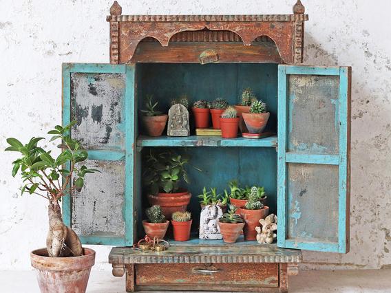 Rustic Ornate Cabinet