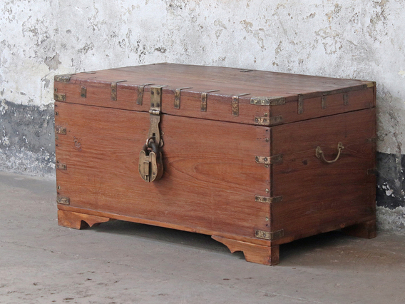 View our  Vintage Storage Chest from the  Coffee Table Chest collection