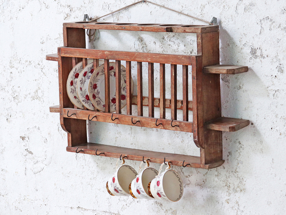 View our  Vintage Shevling Rack from the  Kitchen  collection