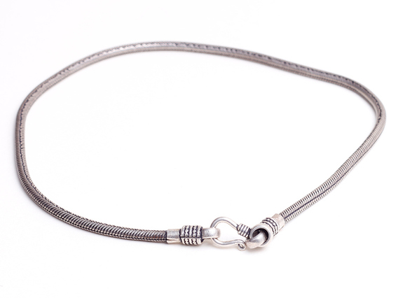 View our  Silver Chain Necklace from the   collection