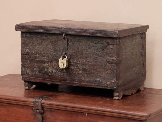 View our  Antique Rosewood Chest from the  Old Wooden Chests, Trunks & Boxes collection