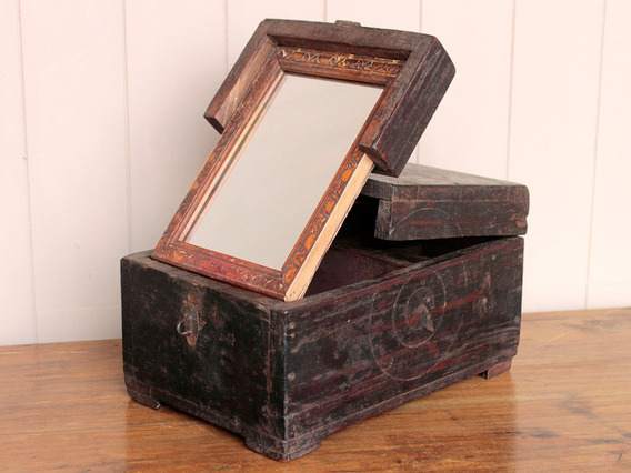 View our  Barber's Box With Mirror from the   collection