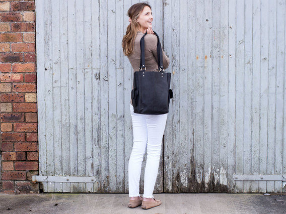 View our  Black Classic Tote Bag from the  Leather Satchels & Bags collection