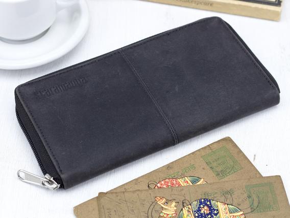 Black Leather Purse 1
