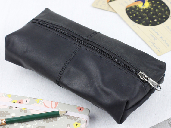 View our  Black Pencil/Makeup Case from the  Pencil Cases collection