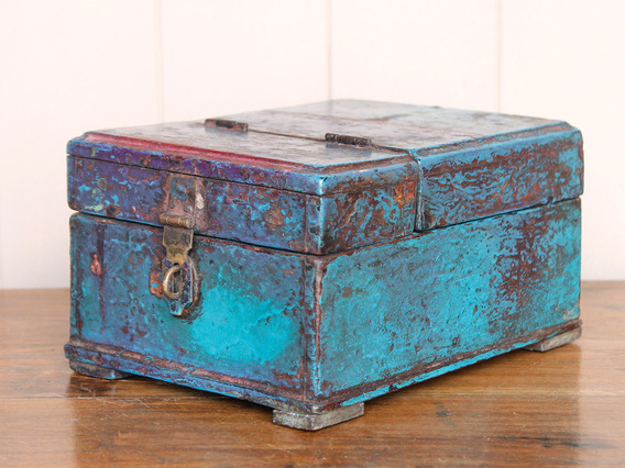 View our  Blue Barber's Box from the   collection