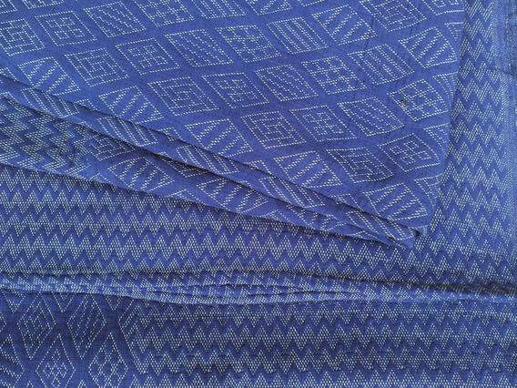 View our  Indigo Geometric Handloomed Blanket from the  New In collection