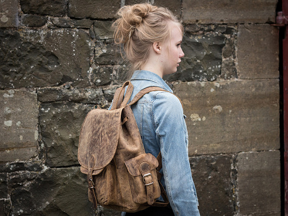 View our  Boys And Girls Leather Backpack  from the   collection