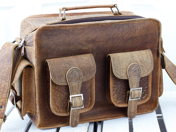 View our  Boys And Girls Small Vintage Leather Flight Bag  from the   collection