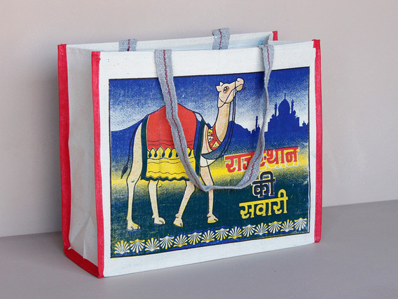 View our  Camel Canvas Bag Long Handles from the  Tote Bags collection