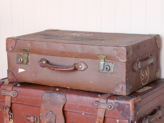 View our  Classic Military Suitcase from the   collection