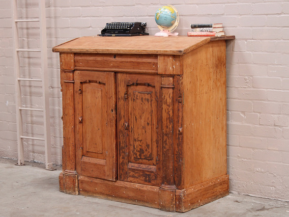 View our  Antique Factor's Bureau from the   collection
