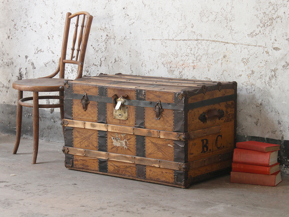 View our  Steamer Trunk from the  Sold collection