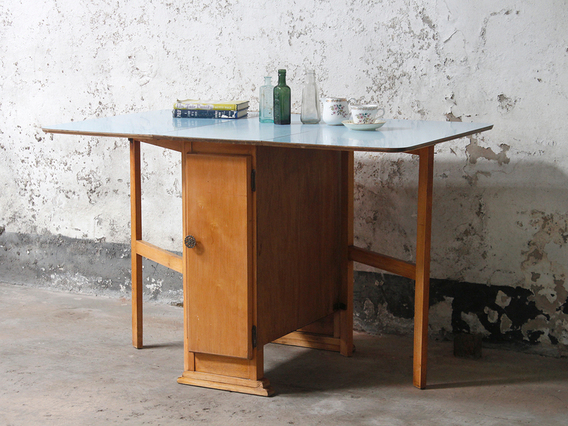 View our  Blue Vintage Formica Table from the   collection