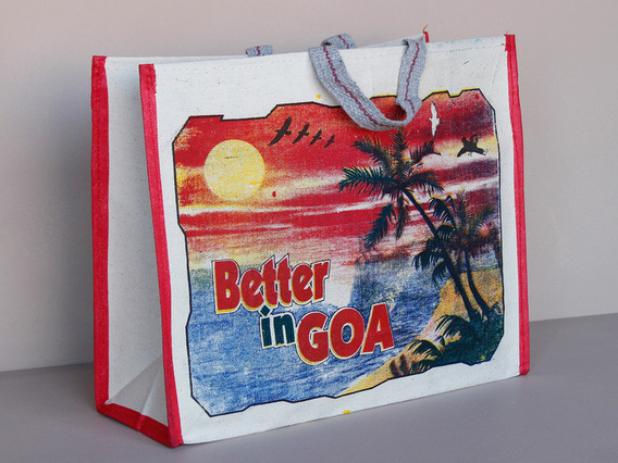 View our  Glorious Goa Canvas Bag Short Handles from the  Tote Bags collection