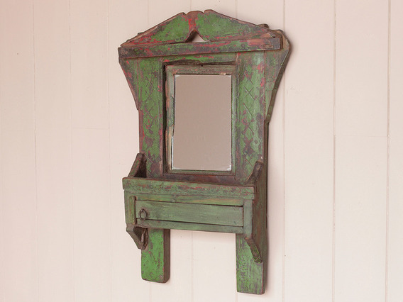 View our  Green Mirror from the  Wooden Mirrors collection