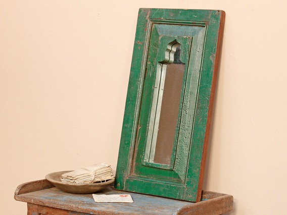 View our  Green Ornate Mirror from the   collection