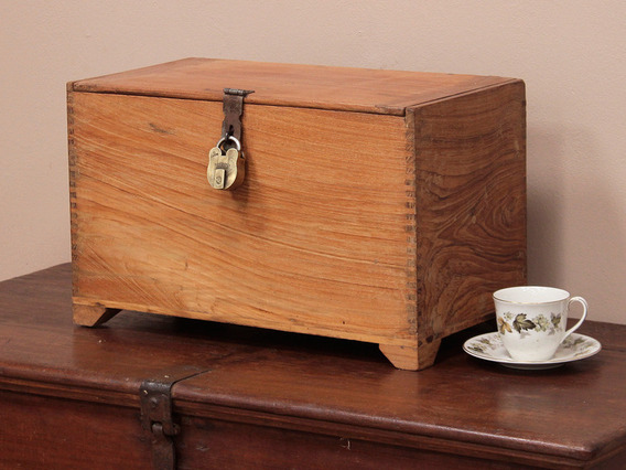 View our  Old Teak Box from the   collection