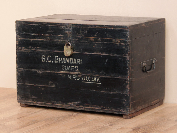 View our  Old Military Chest from the  Sold collection