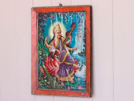 Vintage Indian Print
