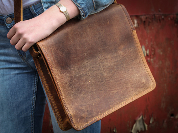 View our  Boys And Girls iPad Leather Messenger Bag 11 Inch from the   collection