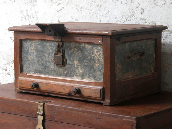 View our  Jewellery Maker's Chest from the  Old Wooden Chests, Trunks & Boxes collection
