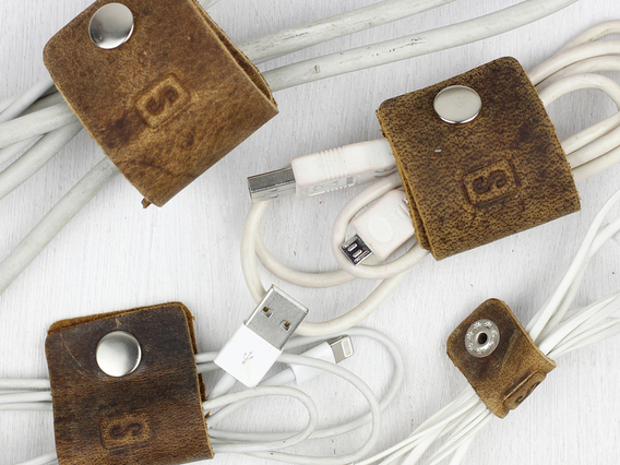 View our  Leather Cord Organisers (4) from the  Travel Accessories collection