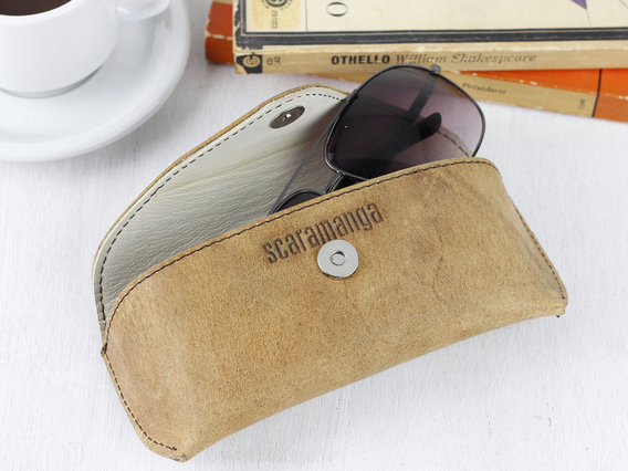 View our  Leather Glasses Case from the  Travel Accessories collection