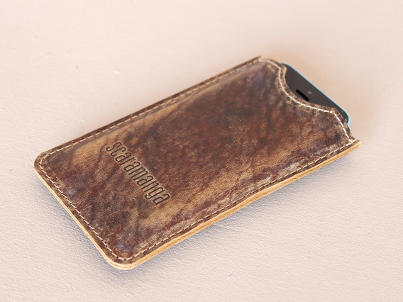 View our  Leather iPhone 5 Sleeve  from the  Work Gifts collection