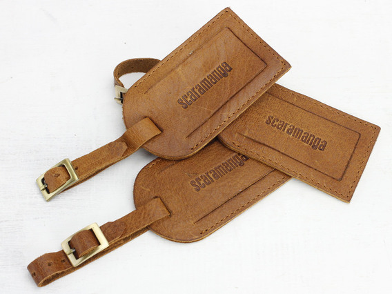 View our  Leather Luggage Tag from the  Travel Accessories collection