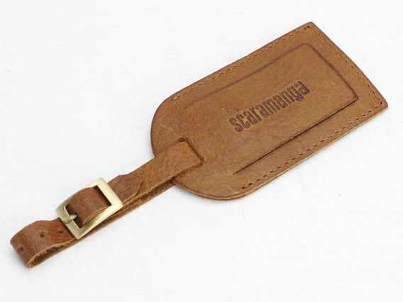 View our  Leather Luggage Tag from the  Travel Gifts collection