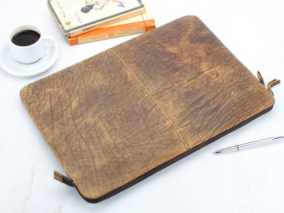 View our  Leather Laptop Case 15 Inch from the  Work Gifts collection