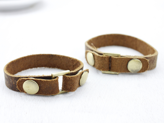 Leather Bracelet Small