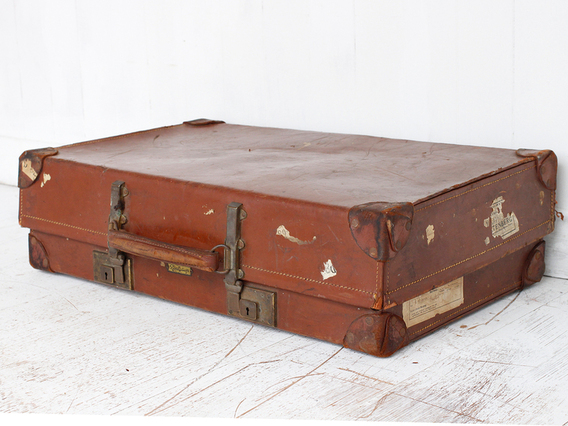 View our  Leather Suitcase  from the  Vintage Suitcases collection