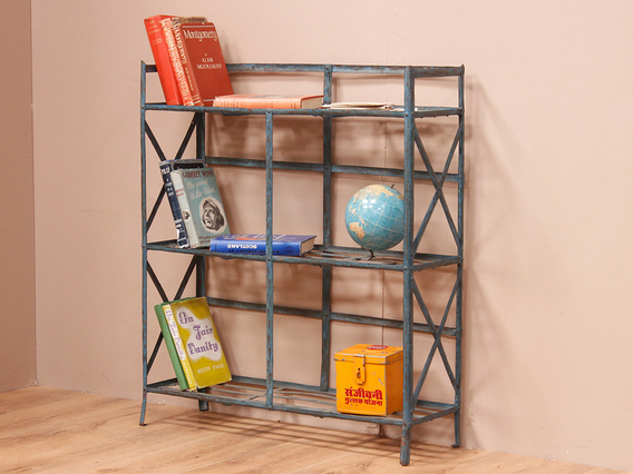 View our  Blue Metal Shelving Unit from the   collection