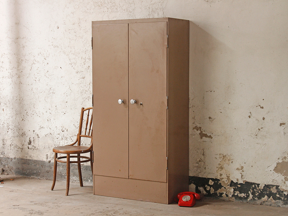 View our  Vintage Metal Post Office Cupboard from the  Free Standing Kitchen Cupboard collection